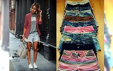 Trendy lato 2015: mega modne szorty na gorące dni