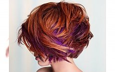 Super seksowny bob w wersji red hair! Ognista czerwień i pomarańcz to hit 2015!