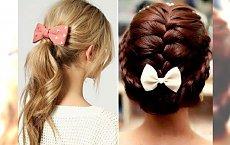 Postaw na kokardę - stylowy dodatek do każdej fryzury!