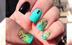 Tatuaże na paznokcie mega trendem w nail art - Mega galeria!