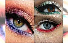 HOT makijaż na wiosnę: kolorowa kreska na dolnej powiece