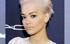Krótkie fryzury w odcieniu białego blondu - to jest hit!