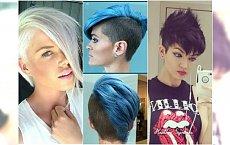 Krótkie fryzury z grzywką - ostre, rockowe, dla bezkompromisowych dziewczyn