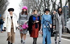 Najlepsze stylizacje Street Style z Milan Fashion Week 2015