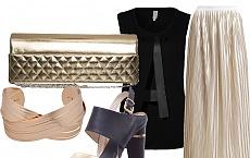 Złoty akcent najmodniejszy w tym sezonie! - Outfity i stylizacje Street Style
