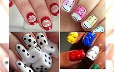 Wesołe wzorki na paznokcie, jakich jeszcze nie widziałyście!