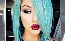 Półdługie fryzury w tęczowych kolorach - ożyw swój look!
