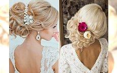 Fryzury ślubne - uczesania, które sprawią, że będziesz wyglądać jak księżniczka