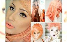 Brzoskwiniowy blond - modny kolor włosów dla wielbicielek pasteli