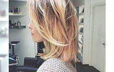 Magiczne dziewczęce fryzury ze średniej długości włosów