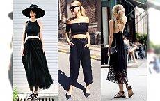 Stylizacje All Black - Podpowiadamy, jak nosić czarny od stóp do głów na lato!