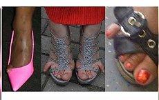 Wstyd! Jak można tak wyjść z domu? Zobaczcie dowody na to że noszenie sandałków to trudna sztuka...