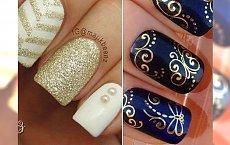 Manicure z dodatkiem złota. Delikatne, szykowne i stylowe propozycje!