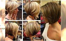 Fryzury bob prosto z salonu - 21 uroczych fryzur