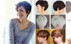 Krótkie fryzury dla romantycznej chłopczycy. Galeria urzekających fryzur