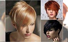 Krótkie fryzury z grzywką na bok - galeria 30 super propozycji