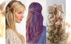 Bow hair, czyli kokarda krok po kroku - inspiracje na majową imprezkę!