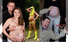 Wstyd, tandeta i dziwactwa - Zobacz najgorsze ciężarne sesje zdjęciowe