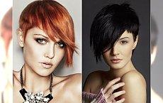 Modne krótkie cięcia włosów dla kobiecych, eleganckich kobiet