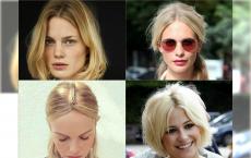 20 Fryzur wyszczuplających twarz z środkowym przedziałkiem na sezon letni!