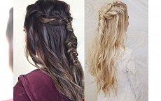 Stylowe fryzury z delikatnym, słowiańskim splotem, które wykonasz w 10 minut