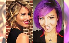 Gorący fryzjerski HIT 2015 - półkrótkie cięcie włosów