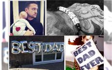 Zobacz jak gwiazdy obchodzili Dzień Ojca! - Najsłodsze zdjęcia z Instagram
