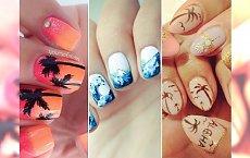 TOP 15: Egzotyczny manicure  - palmy, muszelki, rozgwiazdy. Poczuj lato!