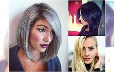 Proste i kobiece fryzury półdługie: z grzywką, cieniowane, długi bob