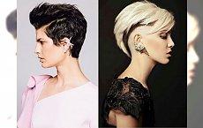 Krótkie cięcia włosów z pazurem - modne, charyzmatyczne inspiracje