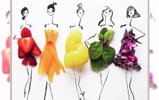 Modne jedzenie od @Groehrs - Sprawdźcie, co ma jedzenie do high fashion!