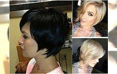 Modne fryzury dla włosów za ucho. Galeria najlepszych propozycji