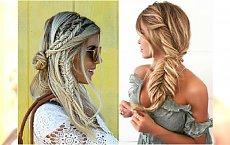 Proste fryzury z warkoczem. Słomkowe blondy i luźne sploty to nasz przepis na letni look