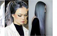 Włosy w kolorze stalowego błękitu - hit czy kit?