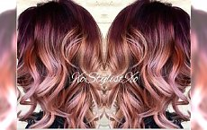Rose gold sombre - miksujemy letnie trendy w koloryzacji