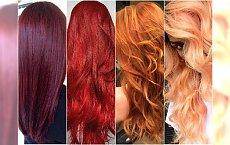 Modne odcienie rudości od burgundu po mandarynkę. Przegląd trendów na lato