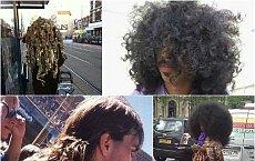 Do okiełzania tych fryzur grzebień i szczotka nie wystarczą. Zobaczcie najbardziej szalone włosy w sieci!