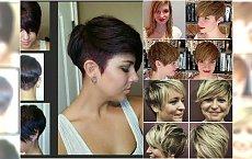 Krótkie fryzury: z grzywką, pixie, asymetryczne. 20 nowych propozycji!