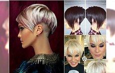 Krótkie fryzury z grzywką - galeria najlepszych cięć