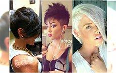 Kobiece i urocze krótkie fryzury z grzywką. 30 najpiękniejszych przykładów prosto z salonu