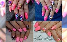 Róż na paznokciach w wielu stylowych odsłonach - MEGA GALERIA!