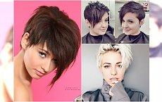 Krótkie fryzury asymetryczne z grzywką - galeria najlepszych propozycji