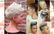 Krótkie fryzury: asymetryczne, z irokezem, undercut. Super propozycje prosto z salonu!