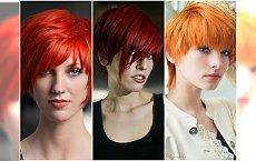 Krótkie fryzury w modnych odcieniach rudości - 20 super propozycji