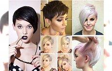 Krótkie fryzury z grzywką - duża galeria propozycji prosto z salonu