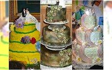 Koszmarne torty ślubne - kiczowate i krzywe. To był postrach stołu!