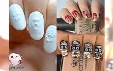 20 mrocznych manicure na Halloween jakich jeszcze nie widziałyście! Te wzory przyprawiają o gęsią skórkę