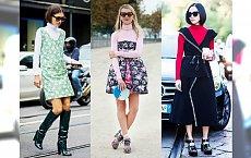 Co zrobić z letnimi sukienkami zimą? Spróbujcie ulubiony sposób gwiazd Street Style!