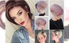Fryzury z włosów za ucho - 40 najlepszych inspiracji z Instagrama