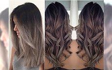 Hot trend w koloryzacji włosów 2016: ombre w popielatych odcieniach